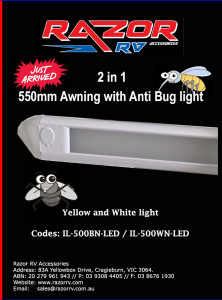 Razor RV Accessories - IL-500WN-LED