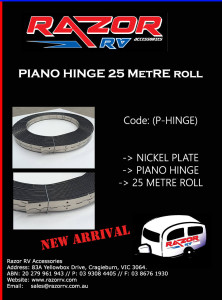 Razor RV Accessories - Piano-Hinge-25M-Roll-no-price